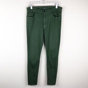 Mother | Emerald High Waisted Looker Skinny Jean